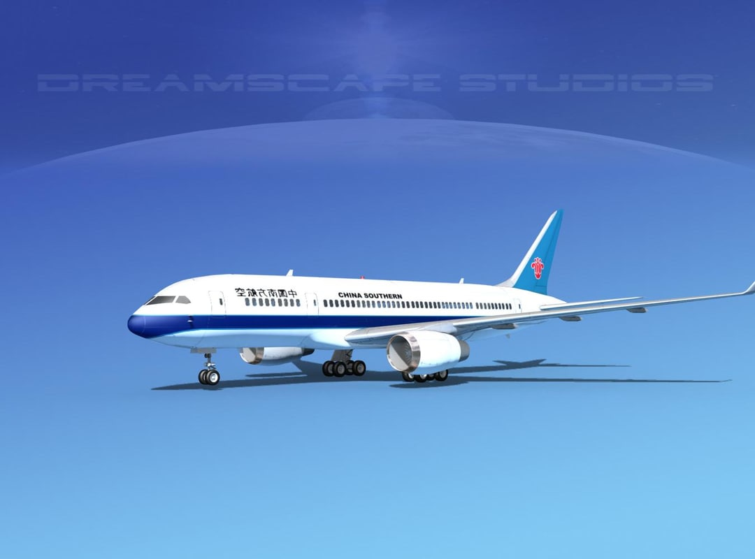 airline boeing 787-8 787 3d dwg