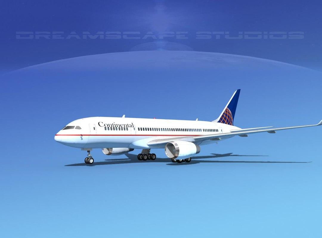 3d airline boeing 787-8 787 model