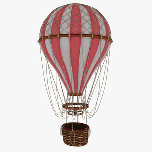 3d vintage air balloon
