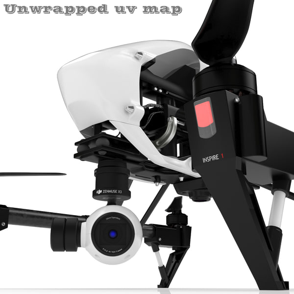 hight dji inspire 1 3ds