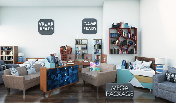 furniture mega package games 3ds