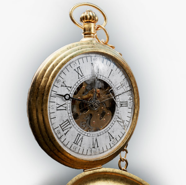 obj old pocket watch
