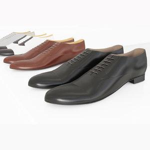 3d realistic shoes model