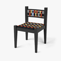 3d model of chair 1921