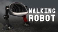 max robot walking