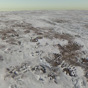 Trampled Snow Tileable