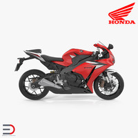 New Honda CBR1000RR Fireblade SP 2016 3D Model