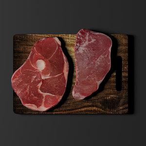 meat obj