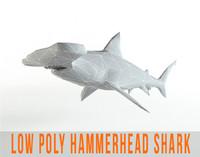hammerhead shark 3d max
