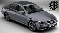 3d model mercedes e class avantgarde