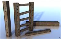 3d iron beam model
