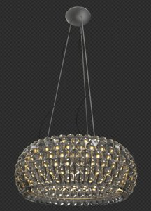 3d hanging lamp caboche