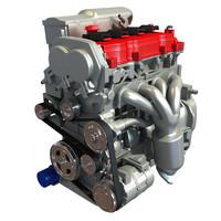 4 cylinder engine max