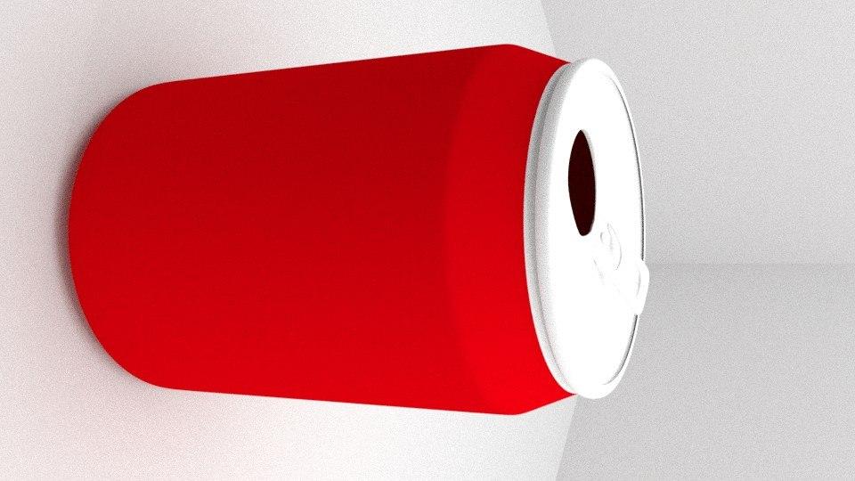 blender cola 3d blend