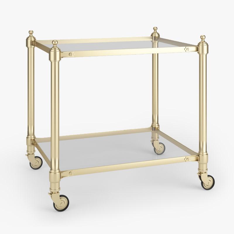 3d stevenson table model