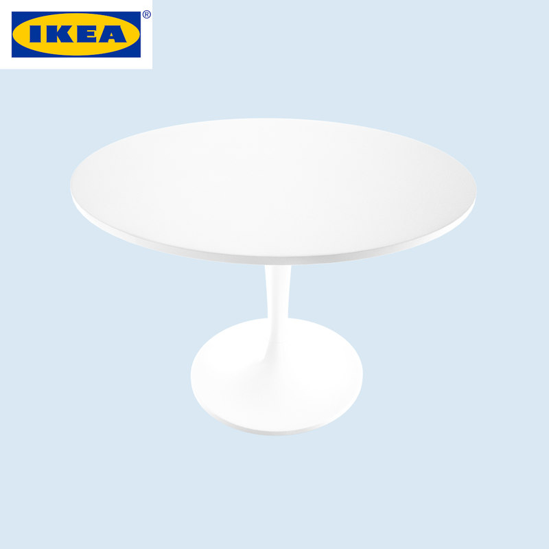 3d model ikea table docksta