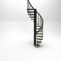 stairs architectural design 3d max