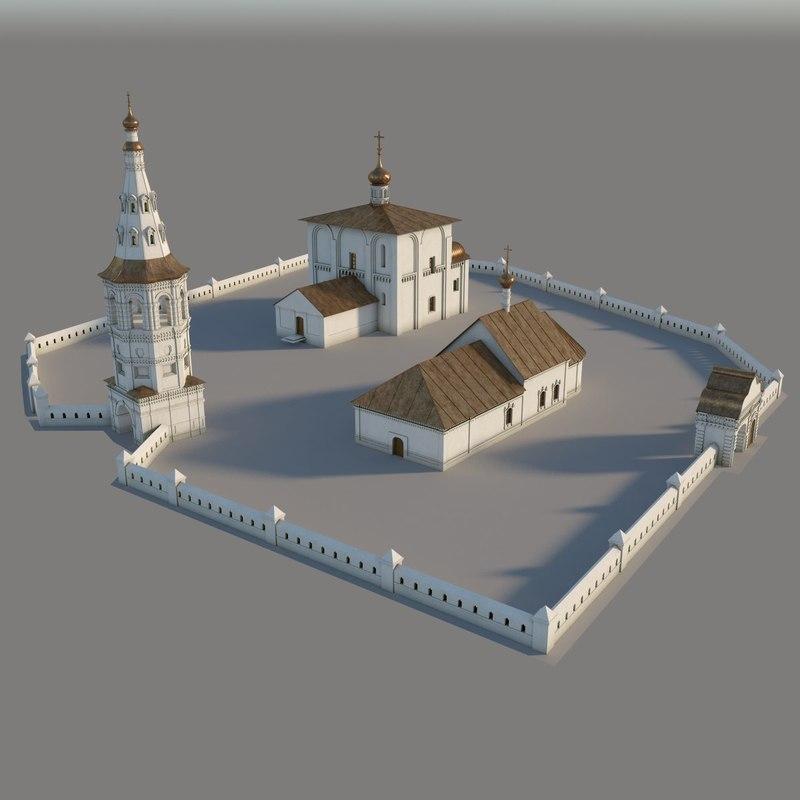 church boris gleb 3d model