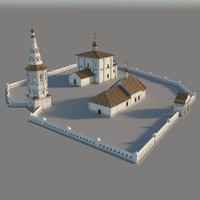 church boris gleb 3d model