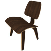 3d max eames lcw chair