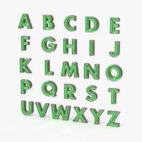 max neon alphabet 02