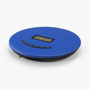 3d portable cd player model