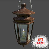 Lamp Hang - PBR mat, low poly