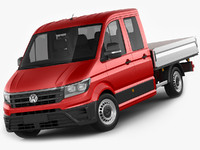 VW Crafter 2017 double cab pickup