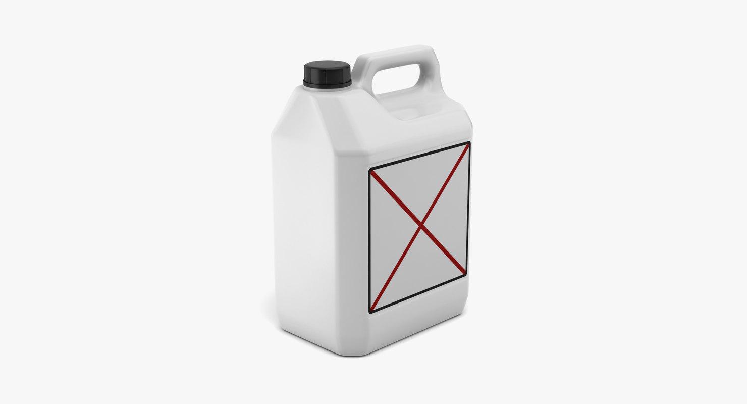 3d bottle 5lt