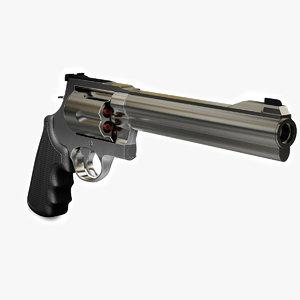 magnum 44 revolver 3d model