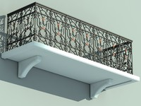 max balcony iron fence