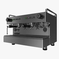 realistic rocket espresso boxer 3d model