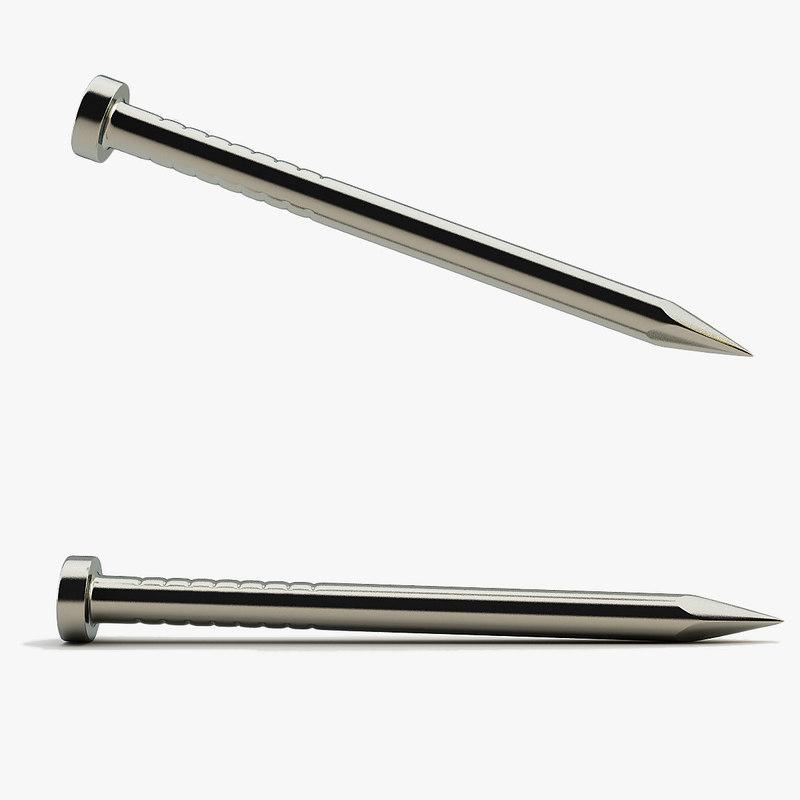 nail 3d model