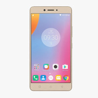 3d lenovo k6 note gold