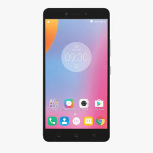 3d lenovo k6 note gray