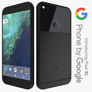 3d model google pixel xl
