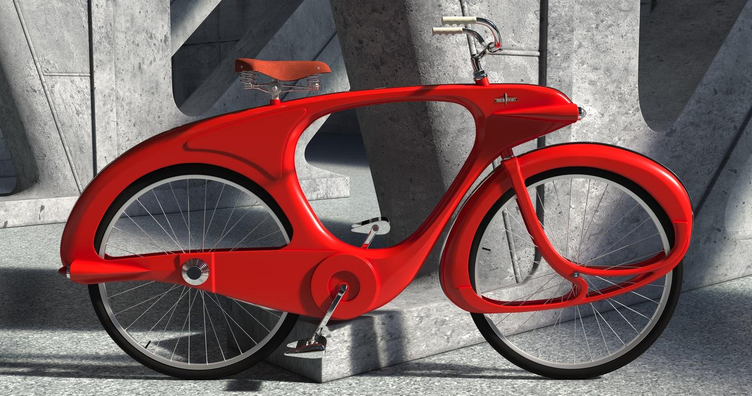 3d model of vintage ben bowden
