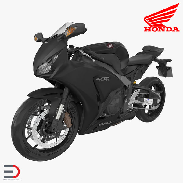 sport motorcycles honda fireblade 3d obj