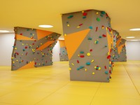 3d wall mountaineers school