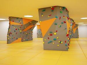 3d wall mountaineers school