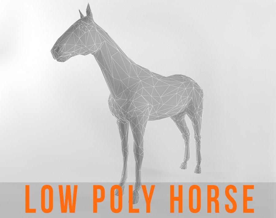 3d model horse games