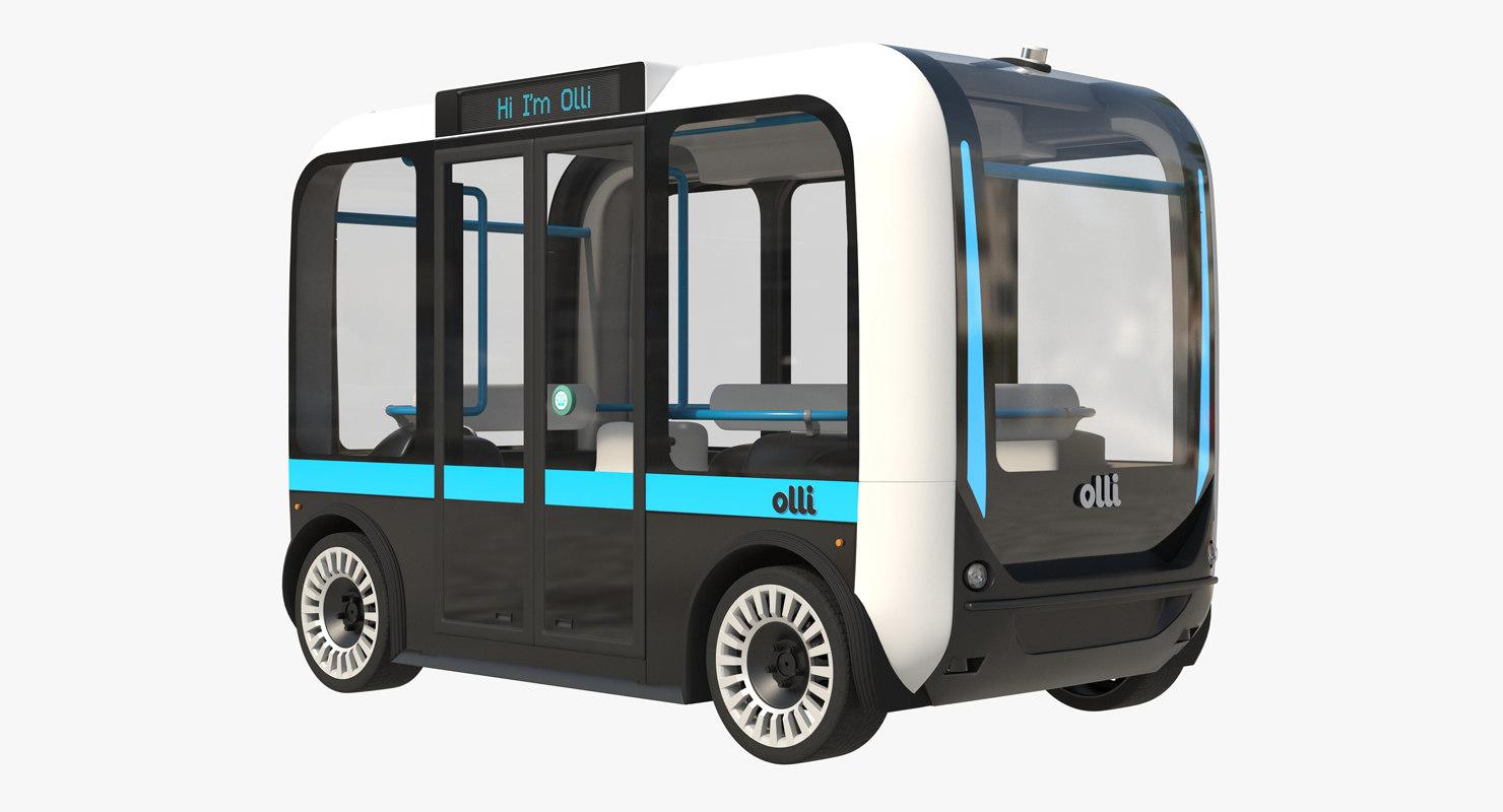 olli rigged 3d model