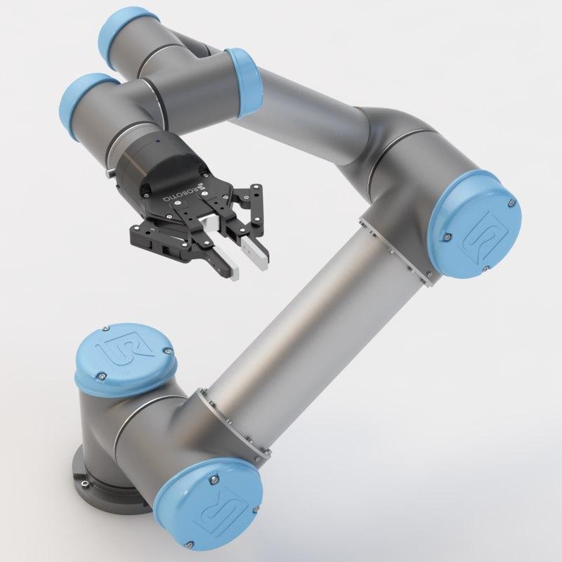 adaptive gripper 3d max