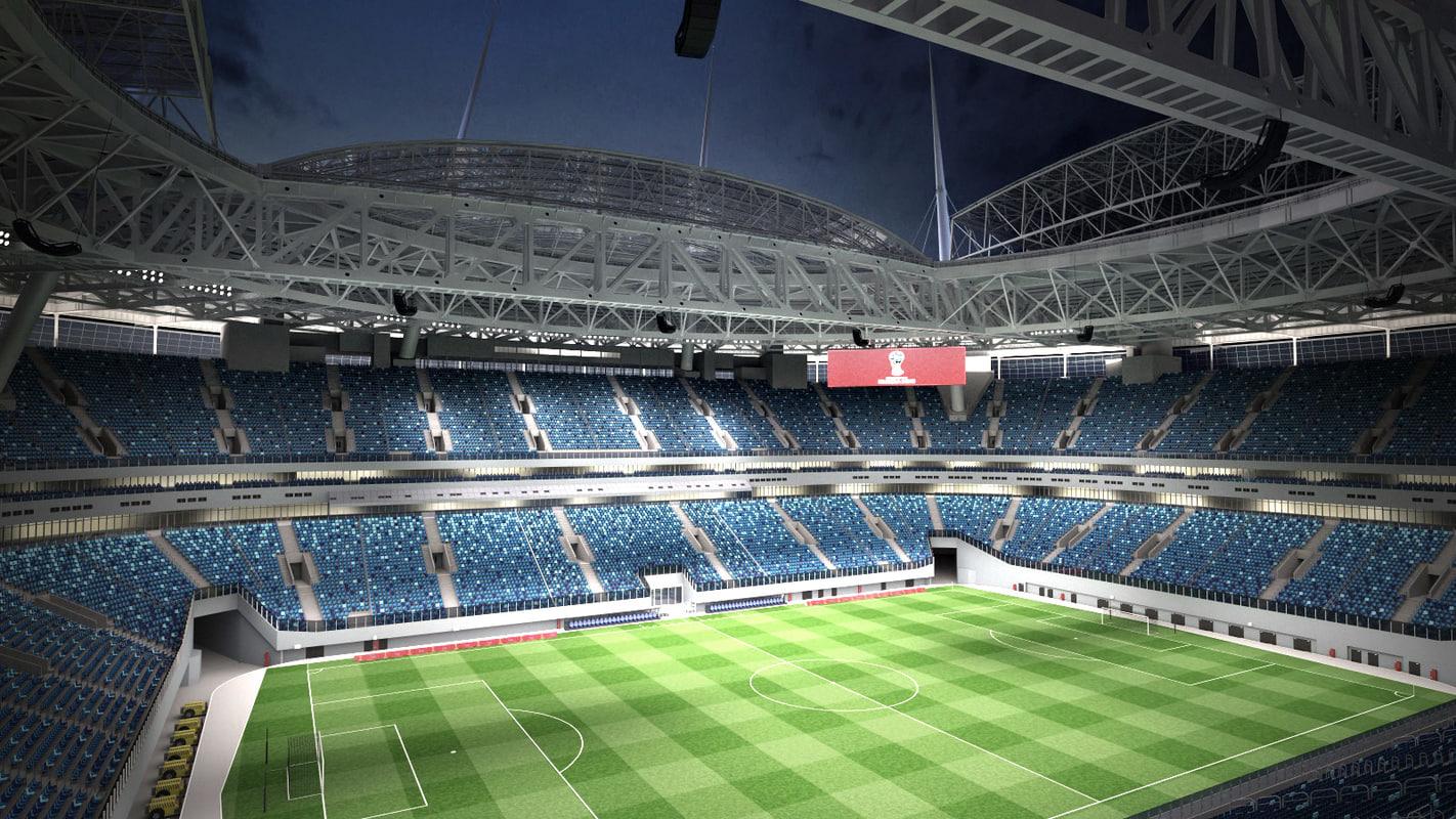 3d krestovsky stadium zenit