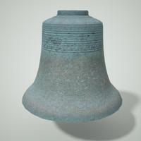 large gong bell obj