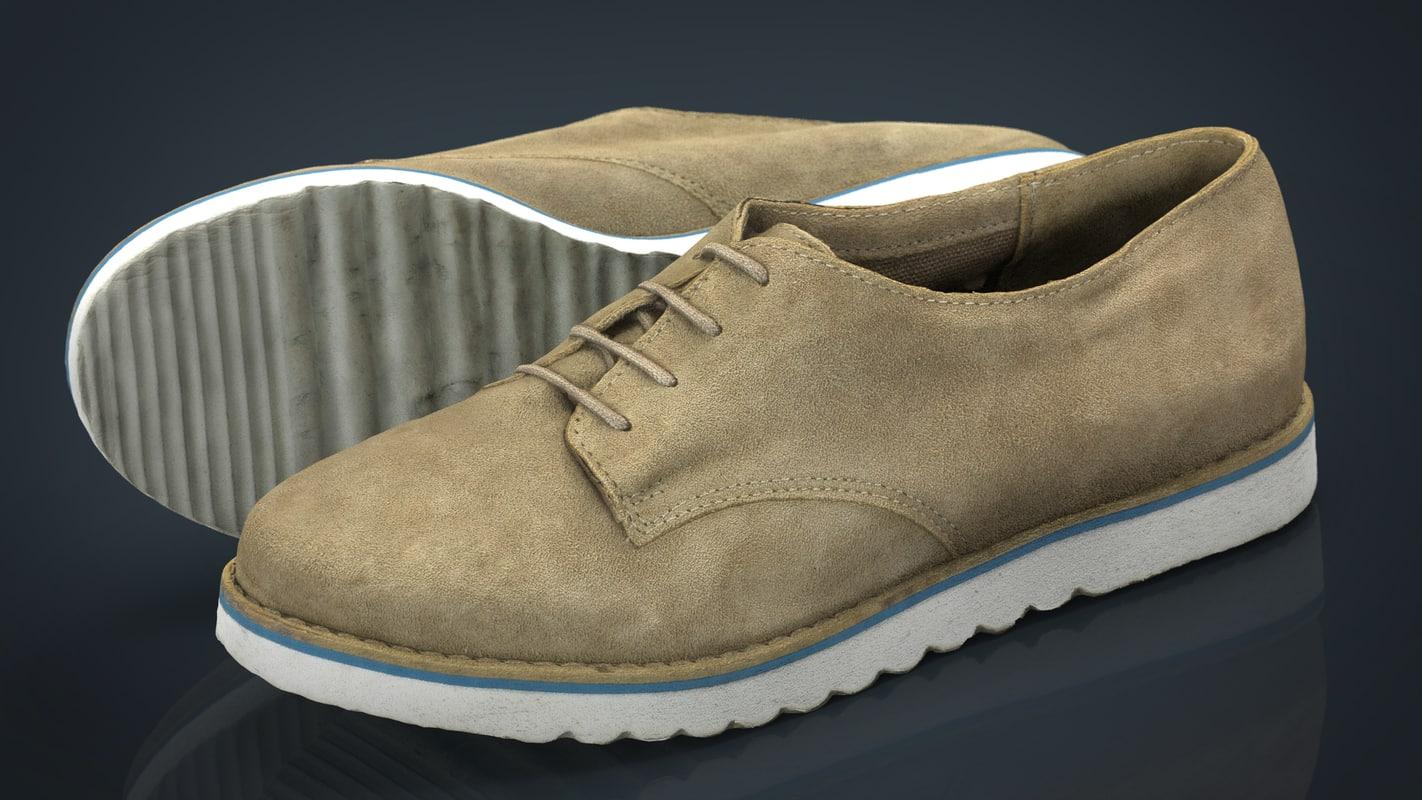 3d model hd women shoes