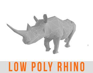 3d model rhino games