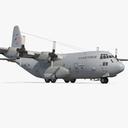 Lockheed C-130 Hercules US Military Transport Aircraft