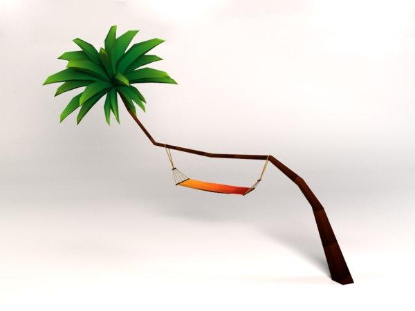 3d hamac palm