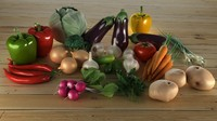 Collection Vegetable